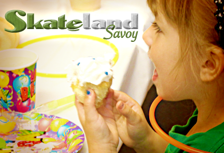 Book your next party with Skateland